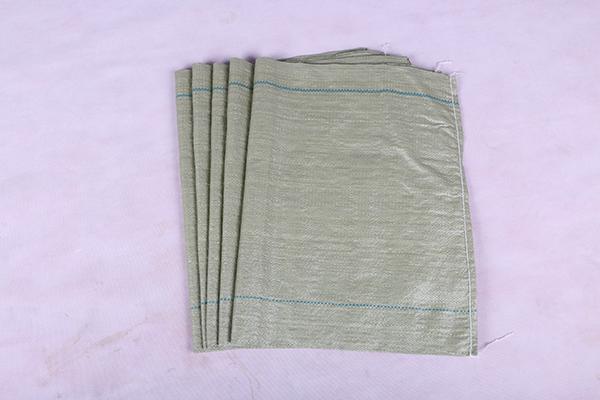 灰绿编织袋