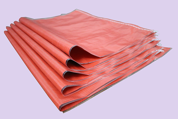 红色编织袋