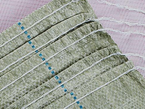 灰绿编织袋展示